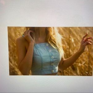 Blank NYC light Cayman Oat Clothing Tank top/ Cami